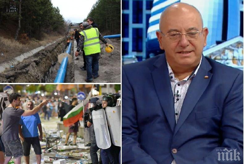 Министър Емил Димитров гневен: Направихме за перничани и невъзможното, за да имат вода, а те сега плюят правителството! Протестът ще постигне само омраза