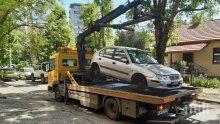 Тръгват хайки за паркирани по тротоари и в градинки коли в София