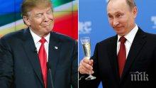 Путин се загрижи за Тръмп, обясни какво ще го спаси от коронавируса