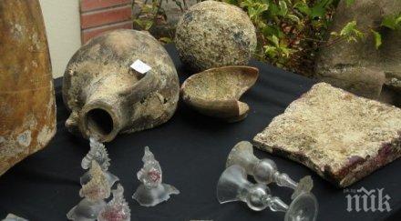 Откриха уникално стъклено съкровище на над 300 години в морето край Бургас