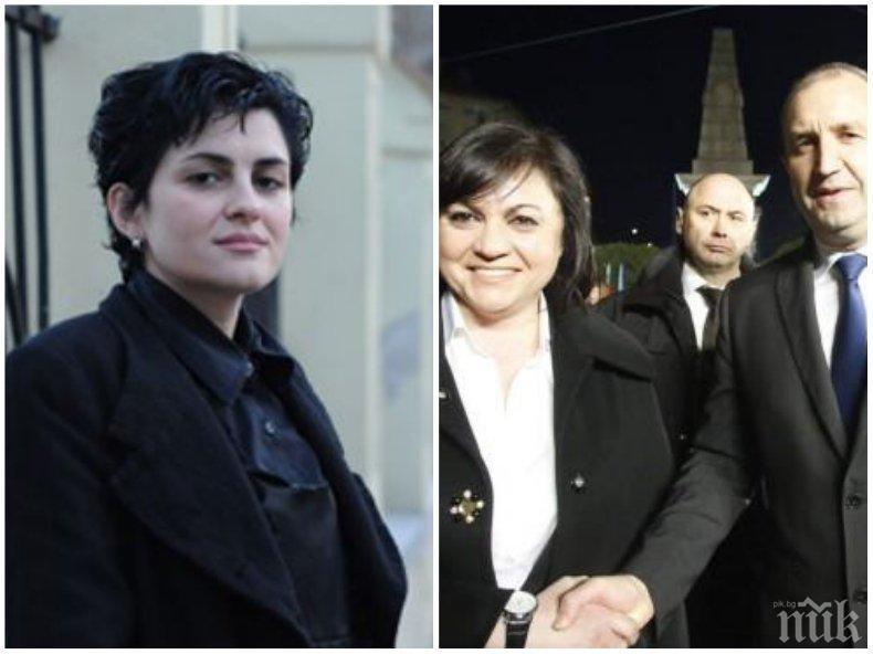 Калина Андролова съсипа Нинова: Ще довърши партията с помощта на чантоносците си, пуделите и креватните си ръководители...