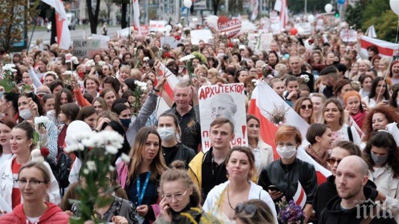 В Беларус закриха информационен сайт - отразявал протестите срещу Лукашенко