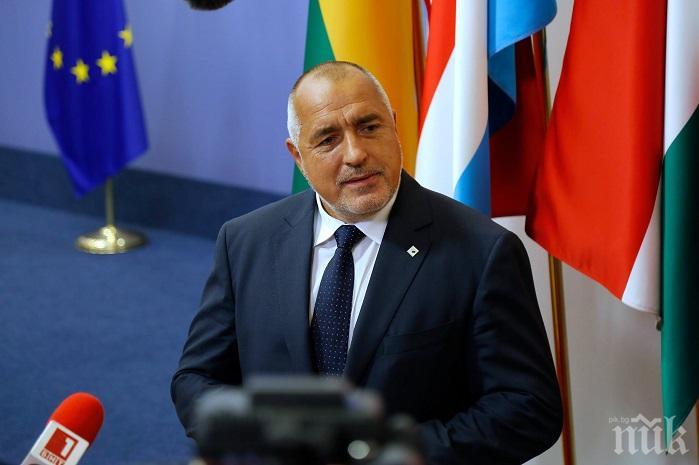 ПЪРВО В ПИК: Премиерът Борисов пристигна в Брюксел за извънредно заседание на Европейския съвет
