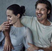 Анджелина Джоли си отмъщава на Брат Пит, но без да иска си докара нови проблеми