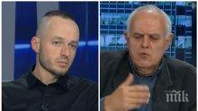 Стойчо Стойчев и Андрей Райчев в горещ спор -  кой ще победи на изборите и каква ще бъде съдбата на Корнелия Нинова