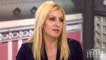 Десислава Ахладова: Фокусът на доклада не е върху България