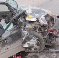 нова кървава катастрофа пак камион кола един човек загинал