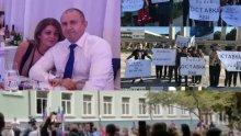 ПЪРВО В ПИК TV: Освиркаха Румен Радев във Варна, граждани зоват: Оставка, предател! (ВИДЕО)