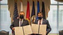 В САЩ Каракачанов договори Пътна карта за отбраната