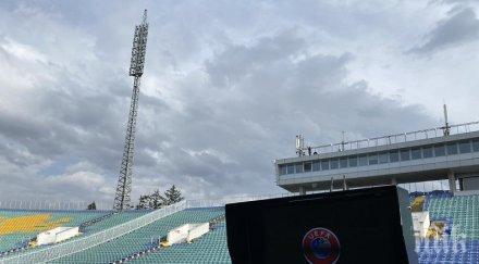 монтираха системата var националния стадион