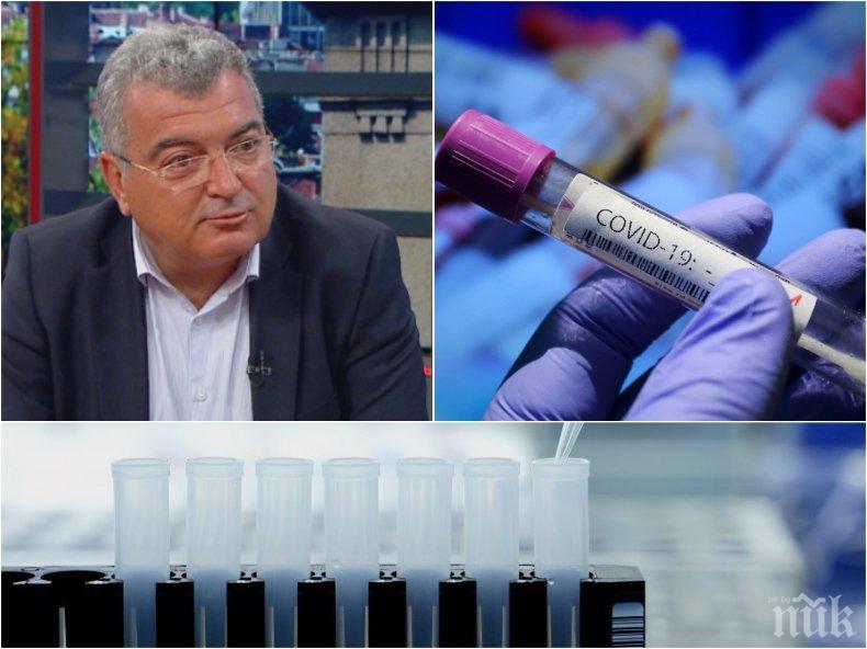 Шефът на столичната РЗИ д-р Данчо Пенчев е напрегнат заради бума на заразени в София, коментира ваксинацията