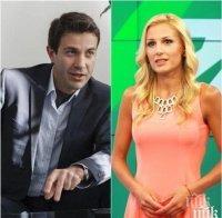 ДВОЙКА ПОД ПРИЦЕЛ: Венелин Петков угажда на бременната Николета Маданска с био храни - шефът на новините в Би Ти Ви крие връзката с колежката си