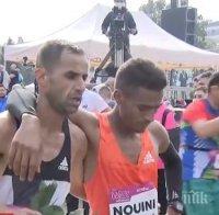 Мароканци спечелиха Софийския маратон с рекорд на трасето