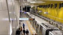 115 акта са написани в метрото за неносене на маски