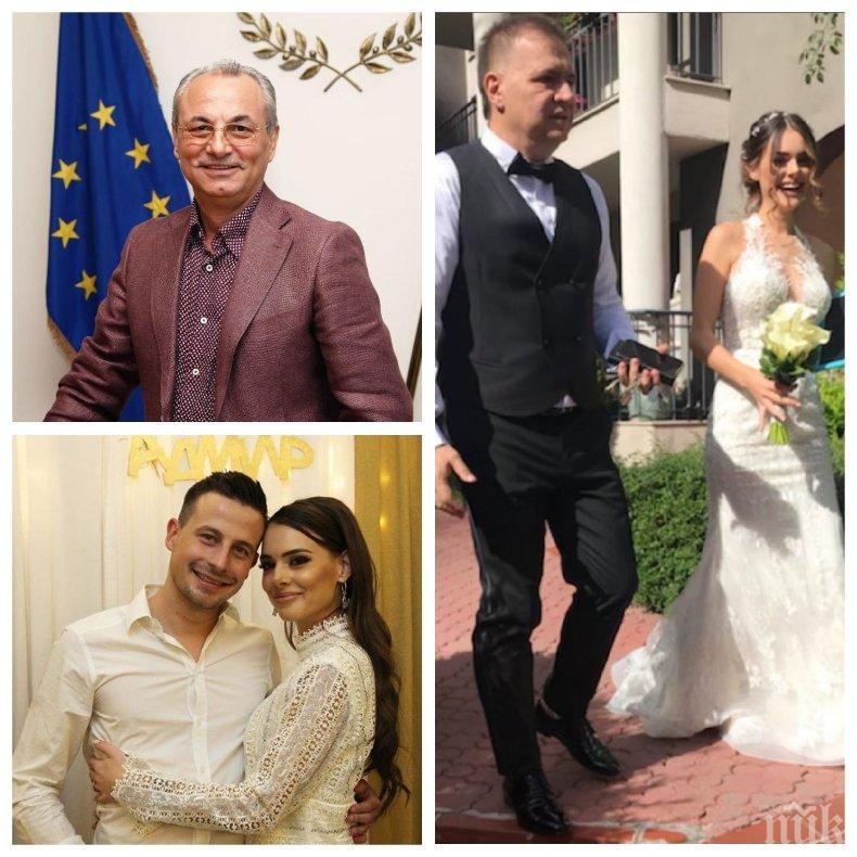 ЕКСКЛУЗИВНО В ПИК: Ахмед Доган ожени сина си (СНИМКИ)