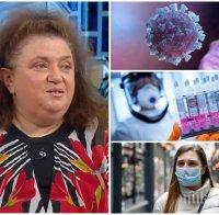 Проф. Радостина Александрова: COVID-19 епидемията може да продължи с години