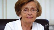 ТЪЖНА ВЕСТ: Почина проф. Христина Вучева