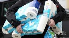 Насред пандемията: Германците започват да се презапасяват с тоалетна хартия