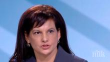 Дариткова обяви защо правителството трябва да довърши мандата си и отсече: От БСП виждам само опит за завземане на властта