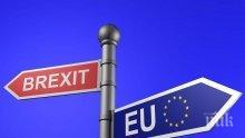 Великобритания отлага преговорите с ЕС за Брекзит