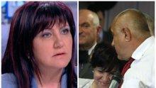 Цвета Караянчева за компромата срещу премиера: Говорих с Борисов - не е казал такова нещо за мен