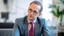 """Външният министър на Германия: """"Северен поток-2"""" ще бъде завършен, но още не е ясно кога"""