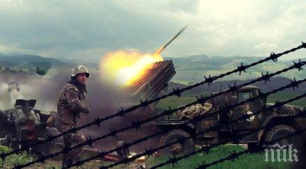 Ракети от Нагорни Карабах удариха Иран