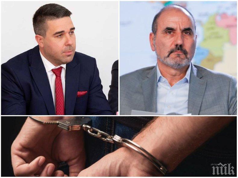 ИЗВЪНРЕДНО: Арестуваха човек на Цветан Цветанов - отказал тест за алкохол и наркотици