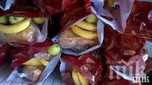 БЧК организира раздаването на пакети храна