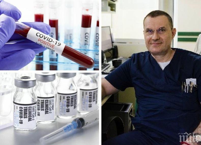 Кардиолог разкри кои хора са по-застрашени от коронавируса: По-голям е шансът да се намери лечение, а не ваксина