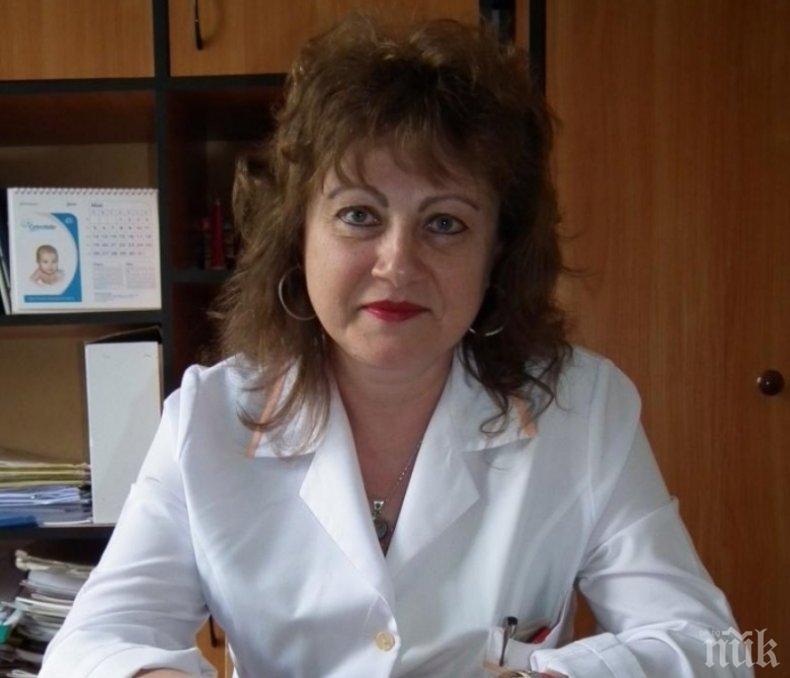 ОГРОМНА ТРАГЕДИЯ! Коронавирусът уби 54-годишна лекарка от Враца и баща й - цялата област почернена след смъртта на онколожката