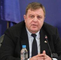 Вицепремиерът Красимир Каракачанов разкри пред ПИК какво показва тестът му за COVID-19 след екшъна с Радев