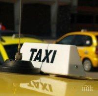 УЖАСЯВАЩ ИНЦИДЕНТ: Такси помете жена на зебра в Бургас, борят се за живота й