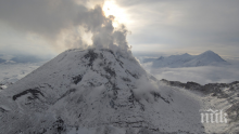 Вулкан изригна на Камчатка (ВИДЕО)
