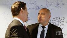 Премиерът Борисов с важен разговор – ето какво обсъди с американския заместник-държавен секретар Кийт Крач