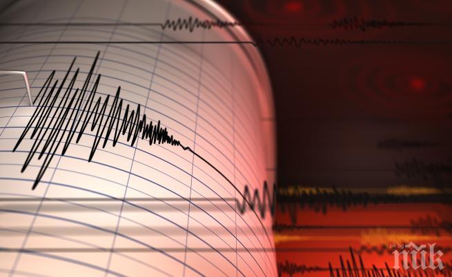 Земетресение с магнитуд 5.2 по Рихтер бе регистрирано край бреговете на Гърция