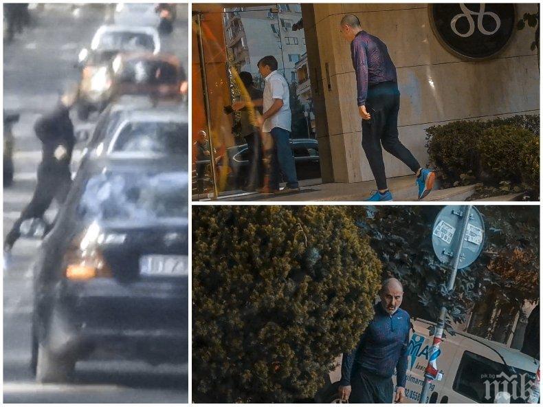 ГОРЕЩО В ПИК: Цветан Цветанов захвърли скъпарските костюми и се пусна по спортен екип - баровецът с личен асансьор тича в парка (ПАПАРАШКИ СНИМКИ)