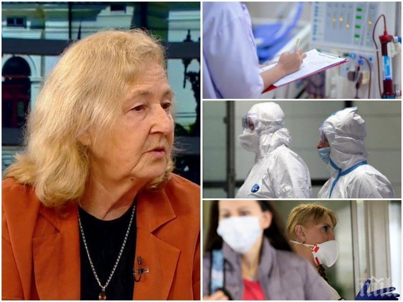Вирусологът проф. Мира Кожухарова: При нас епидемията много закъсня