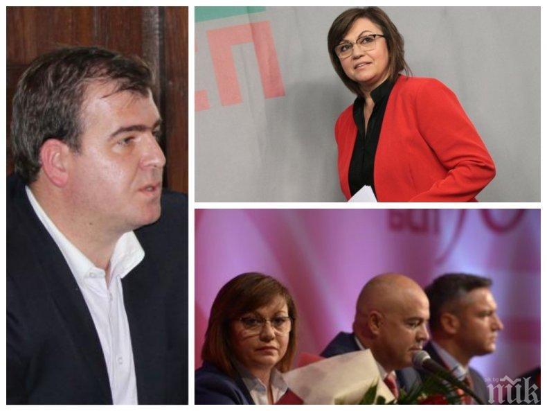 САМО В ПИК! Явор Гечев: Кабинетът в сянка на Нинова дублира политиките в държавата. Партията ще я съди за глупостите от конгреса