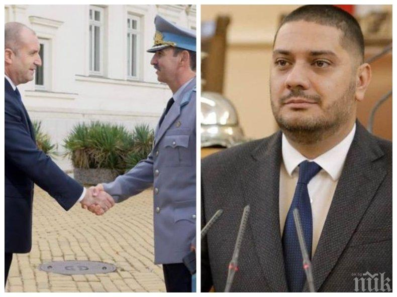 Депутат от ГЕРБ: Скандалът с Радев в Естония е пълен резил, който унижава България в очите на нейните партньори и съюзници!