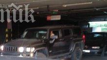 Карбовски не може да паркира (снимки)