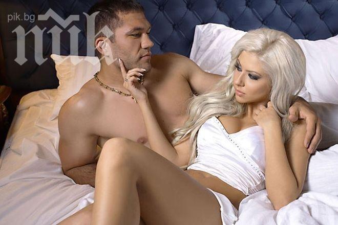 Андреа: Много харесвам да чистя гола, а Кубрат да ме гледа
