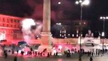 В Рим неофашисти предизвикаха безредици заради ограничителните мерки