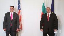 ГОРЕЩО В ПИК! Премиерът Борисов се срещна със зам.-държавния секретар на САЩ Кийт Крак. Ето за какво разговаряха