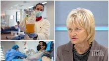 СПАСЕНИЕ! Д-р Михайлова разкри кое улавя и елиминира COVID-19