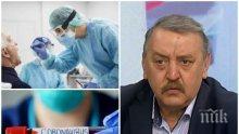 Проф. Тодор Кантарджиев: Водата за уста убива коронавируса, както и бонбончетата с етерично масло