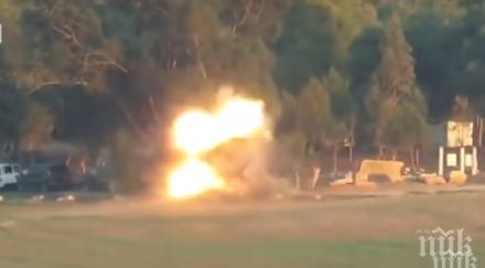 напрежението стихва израел нов въздушен удар хамас газа