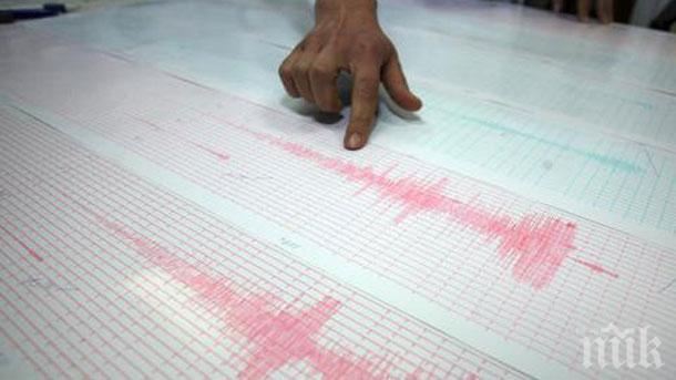 Земетресение с магнитуд 5,2 по Рихтер разлюля Иран