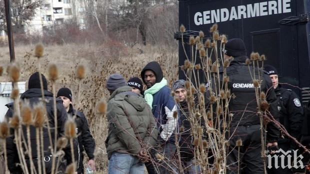"""Задържаха шестима нелегални мигранти на магистрала """"Тракия"""""""