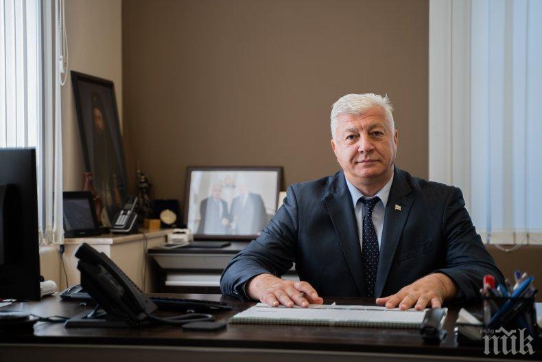Кметът на Пловдив иска от Борисов още 20 млн. за важни проекти